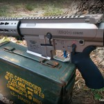 Hiperfire Hipertouch TH24 tarheel 24 trigger upgrade - in the WMD Guns Big Beast AR10 .308 on ammo can close