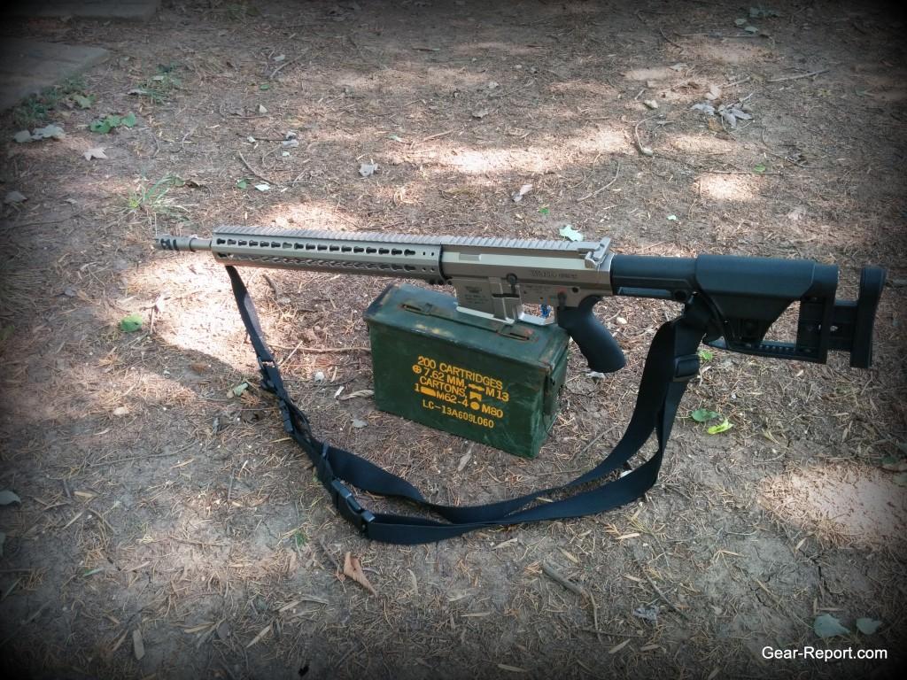 Hiperfire Hipertouch TH24 tarheel 24 trigger upgrade - WMD Guns Big Beast .308 AR10 On 7.62 ammo can 1