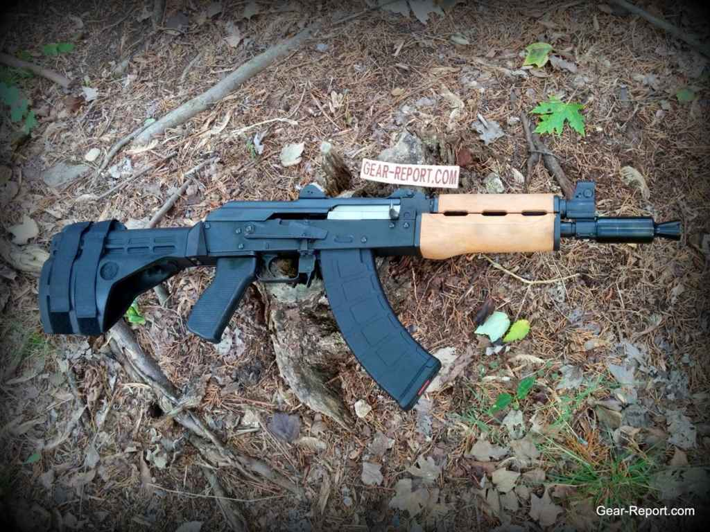 Century Arms PAP M92 PV AK Pistol Review with Krinkov Device and SB