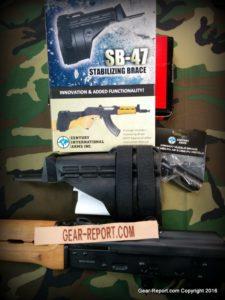 Century PAP M92 PV Pistol arm brace in box