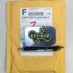 key-bar key organizer - packaging