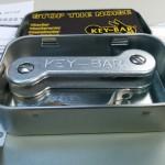 key-bar key organizer - aluminum