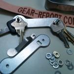 key-bar key organizer - assembly