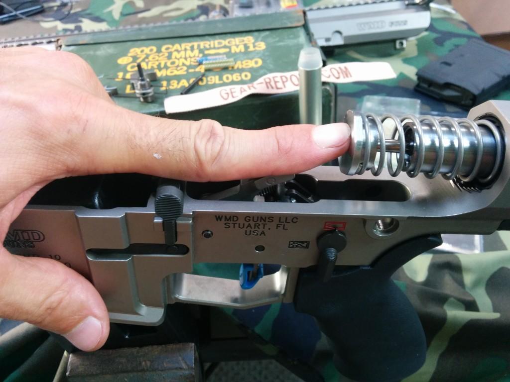 Kynshot RB5006 recoil damper for rifle length .308 stock