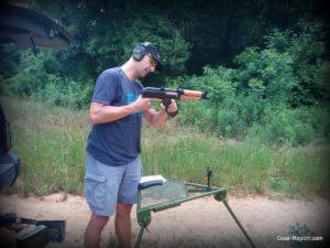 PAP M92 AK Pistol Review - Jeff inserting magazine