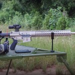 WMDguns Big Beast .308 AR10 first shots  on Hyskore Ten Ring portable shooting bench