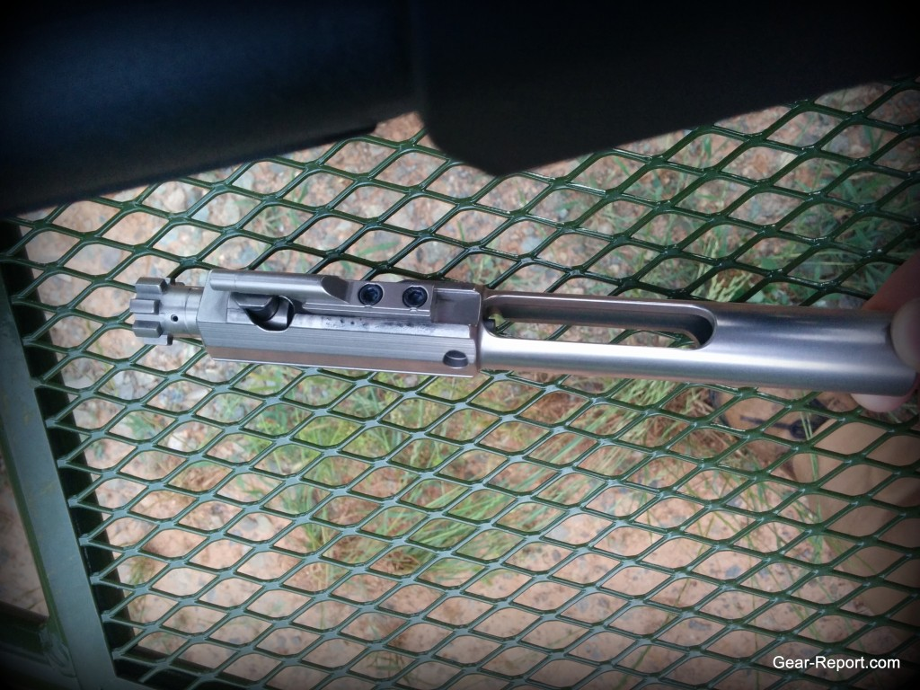 WMDguns Big Beast .308 AR10 first shots bcg on Hyskore Ten Ring portable shooting bench