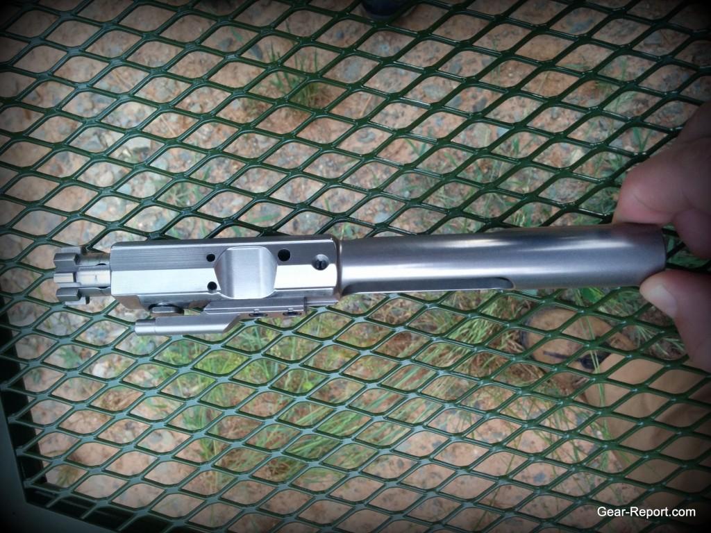 WMDguns Big Beast .308 AR10 first shot side  bcg son Hyskore Ten Ring portable shooting bench