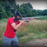 WMDguns Big Beast .308 AR10 first shots Jeff standing far