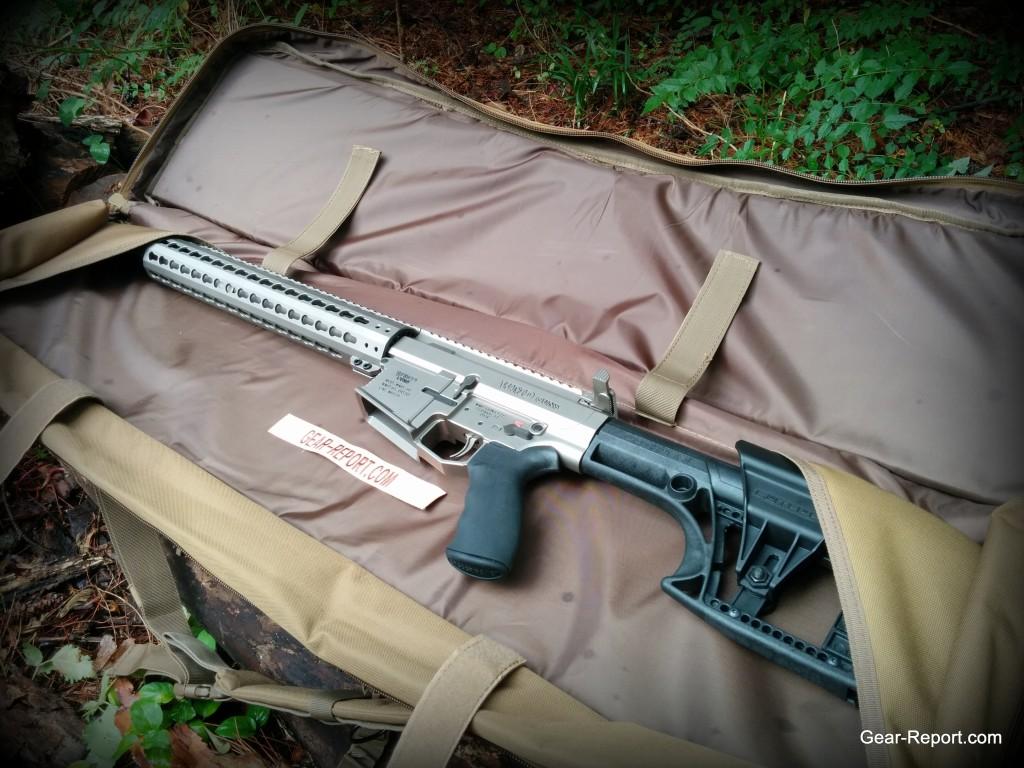WMDguns Big Beast .308 AR10 first shots in Drago rifle case