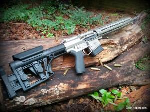 WMDguns Big Beast .308 AR10 stills side with spent cases