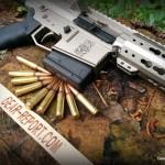 WMDguns Big Beast .308 AR10 stills side with amo arch