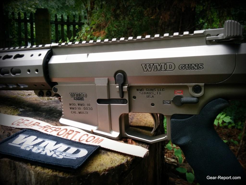 WMDguns Big Beast .308 AR10 stills receivers close