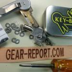key-bar key organizer - about to install final screw