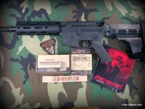 Strike Industries AR Enhanced Pistol Grip on AR pistol