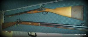 big, old kentucky muzzle loader with Shannon Barrel