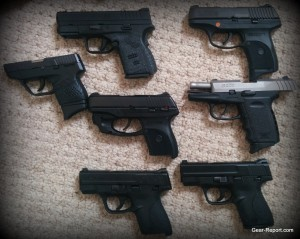 concealed carry pistol test to find the best concealed carry pistol Ruger, Taurus, Smith and Wesson, Springfield