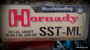Hornady SST-M muzzle loader black powder Sabot bullets