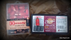 Hornady and Pyrodex muzzle loader black powder rifle load