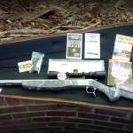 CVA Optima V2 muzzle loader black powder rifle
