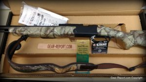 Thompson Center Strike muzzleloader black powder rifle