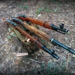 Hunting rifles Mosin Nagant Russian and Finnish rifles