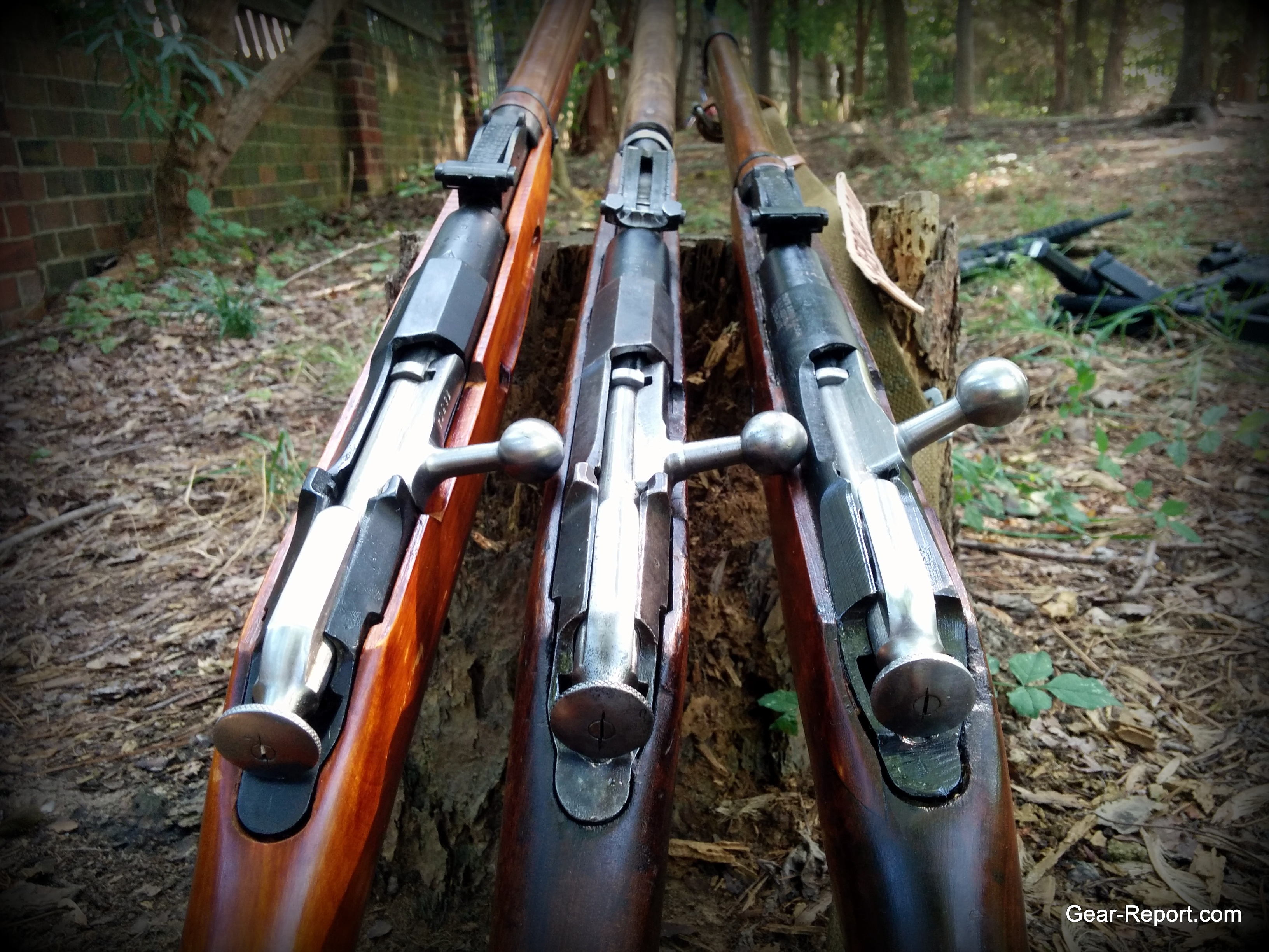 Mosin Nagant Bolt Action Rifle Gun Schematic