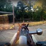 Hunting rifles Mosin Nagant shooting