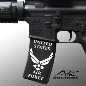 AR Soc ar-15 printed magazine cover for pmag or gi mag - US Air Force