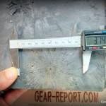 Federal Premium .308 Win 168 gr Sierra MatchKing BTHP Gold Medal Match large bullet fragment pattern
