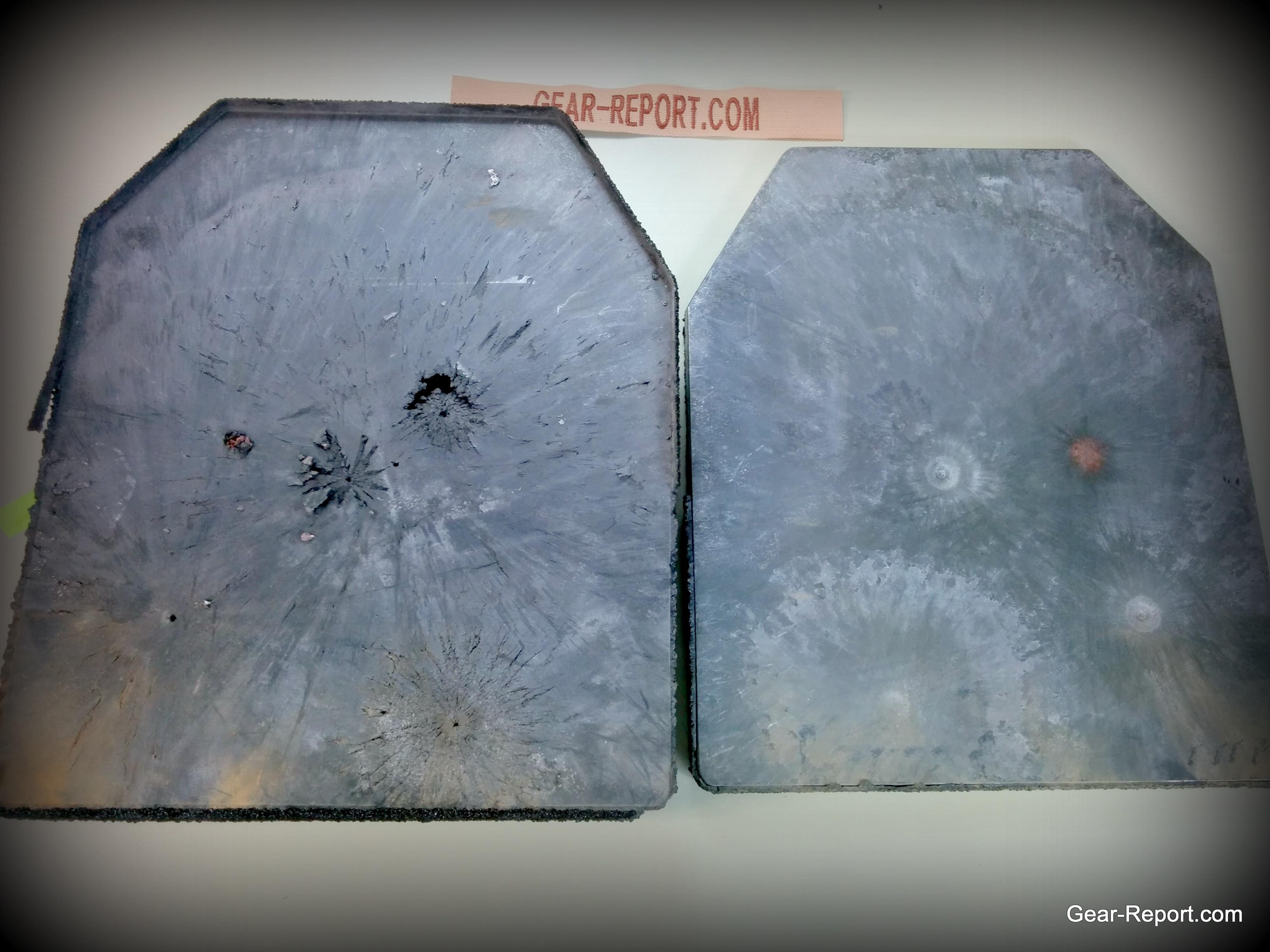 AR500Armor Level III Plate vs  308 TAP, G2 RIP, Sierra