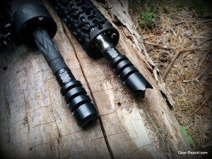 R&J Firearms Keg muzzle brake R&J Firearms Crown muzzle brake -installed
