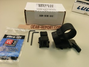 American Defense Manufacturing QD Auto Lock Mount (ADM SM-01 Swing off Mount)