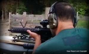 JP Enterprises JPGS-5BC Adjustable Gas System for AR15 AR10 Review - Jeff shooting close
