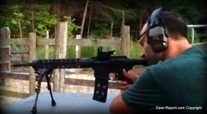 Testing the Gibbz Arms side charging AR15 upper