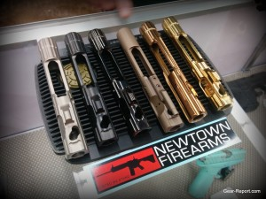 Newtown Firearms NF-15 Elite BCG review - DLC, PVD, etc