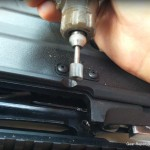 Mosin Nagant Archangel sniper build - relieving the stock to fit the RSI bent bolt