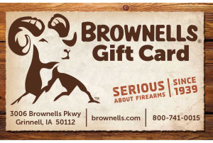 Last Minute Gift Ideas - Gift Cards - Brownells