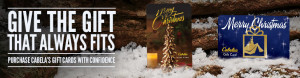Last Minute Gift Ideas - Gift Cards - Cabelas