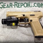 Canik TP9SA review - M1903 rail mounted light