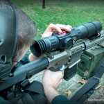 How to Zero the ATN X-Sight Digital Smart Rifle Scope - Brian adjusting zero