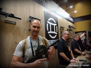 Gemtech Silencer on an FN P90