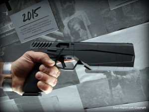 Silencerco Maxim 9 integrally suppressed pistol