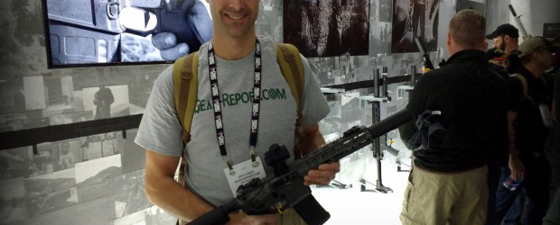 Silencerco Omega 9K Suppressor for 9mm and 300 Blackout – SHOT Show 2016 Another new product intro in the surprisingly loud SilencerCo booth at SHOT Show 2016, this time the SilencerCo […]