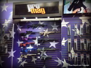 ProMag American flag themed booth