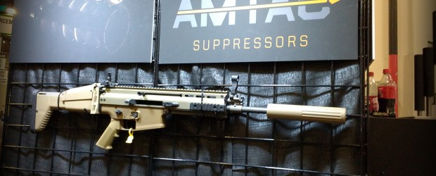 Adam from AMTAC Suppressors shows us their unique rifle suppressors that slide over the barrel, instead of just screwing on to the end (although they make a few of those […]