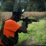 Rock River Arms LAR-300 X-1 rifle review - Jeff shooting