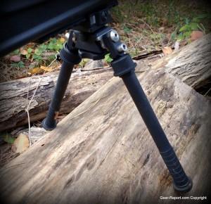 Atlas Bipod: BT47-LW17 PSR Precision Sniper Rifle Bipod Review retracted