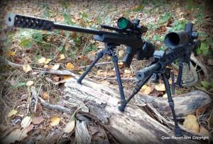 Atlas Bipod: BT47-LW17 PSR Precision Sniper Rifle Bipod Review with caldwell bipod