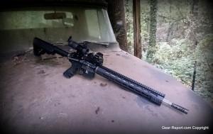 Rock River Arms LAR-300 X-1 rifle review - TRO XL handguard